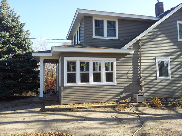 Kuechle Construction Company | St.Paul Hamline Area Remodel And Addition | Exterior Angle Two