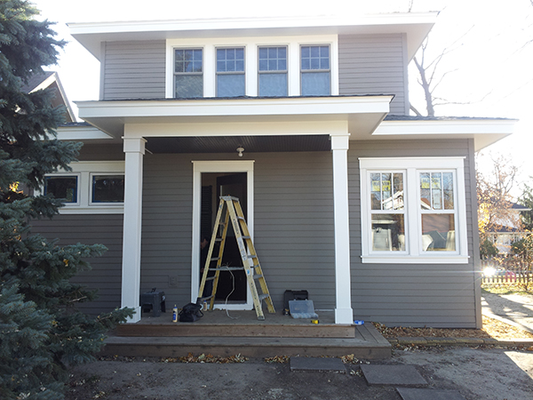 Kuechle Construction Company | St.Paul Hamline Area Remodel And Addition | Exterior Angle Four