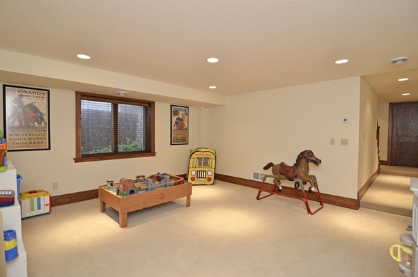 Kuechle Construction Company|Linden Hills Home Renovation|Playroom Finished Basement Picture