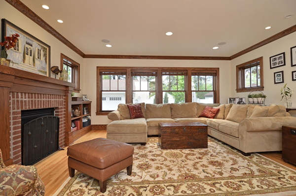 Kuechle Construction Company|Linden Hills Home Renovation|Living Room Photo
